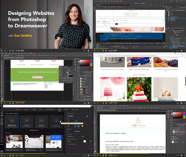 Designing Websites from Photoshop to Dreamweaver center