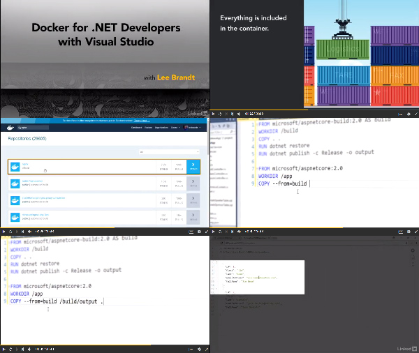 Docker for .NET Developers with Visual Studio center