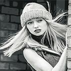 Dramatic Black and White Photoshop Action logo