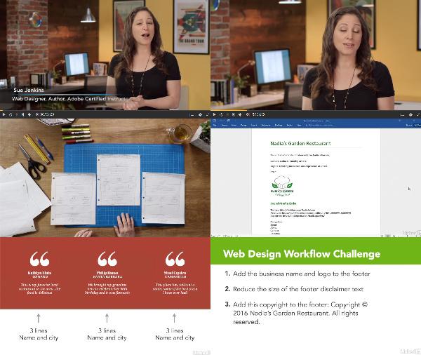 Efficient Web Design Workflow center