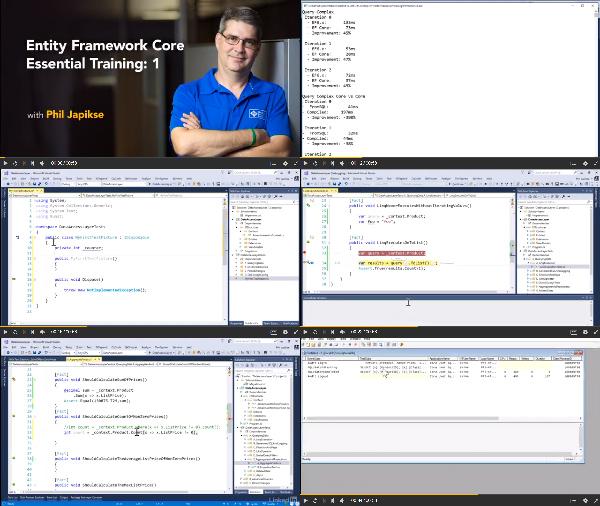 Entity Framework Core Essential Training: 1 center