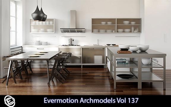 دانلود آرچ مدل Evermotion Archmodels Vol 137