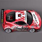 Ferrari 458 GT3 Race Car 2014 logo