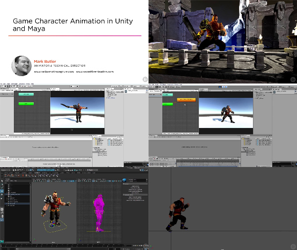 Game Character Animation in Unity and Maya center