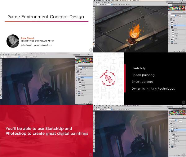 Game Environment Concept Design center