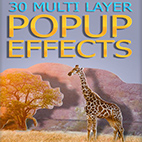 GraphicRiver 30 Multi Layer Popup Effects logo