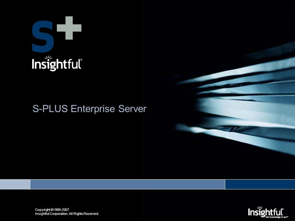 Insightful S-Plus center