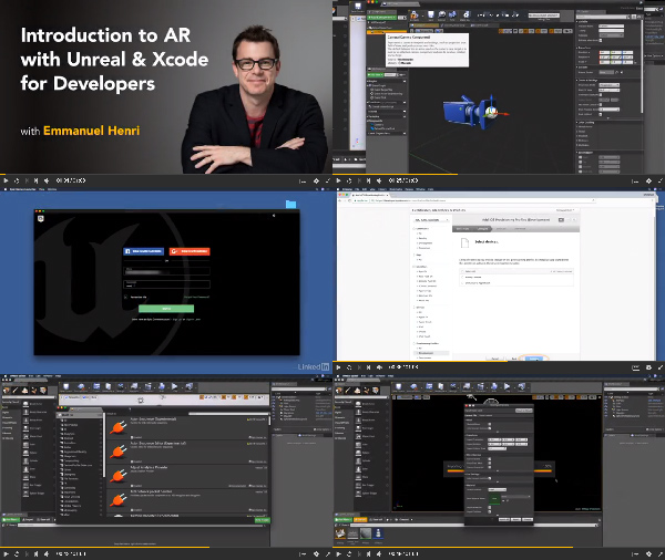 Introduction to AR with Unreal and Xcode for Developers center