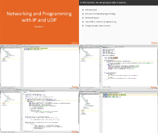 Java Network Programming Recipes center