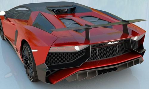 Lamborghini Aventador LP750-4 SV Roadster 2016 center