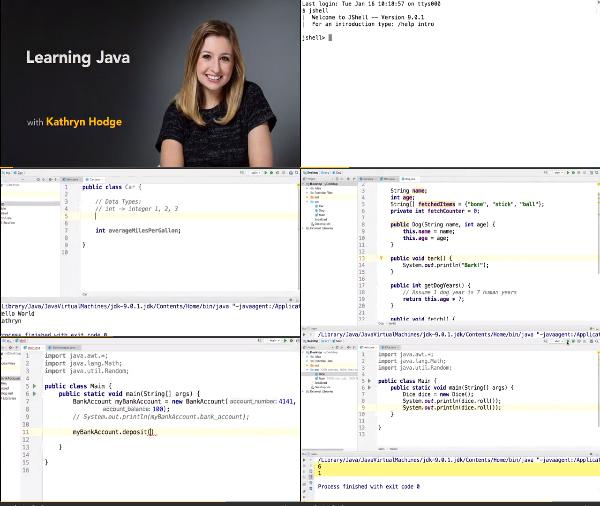 Learning Java center