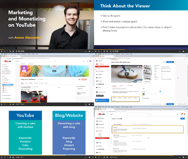 Marketing and Monetizing on YouTube center