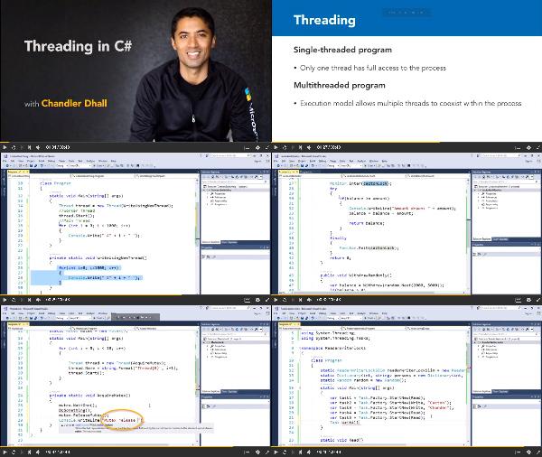 Multithreaded Programming in C Sharp center