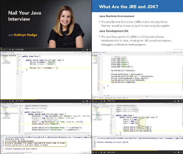 Nail Your Java Interview center