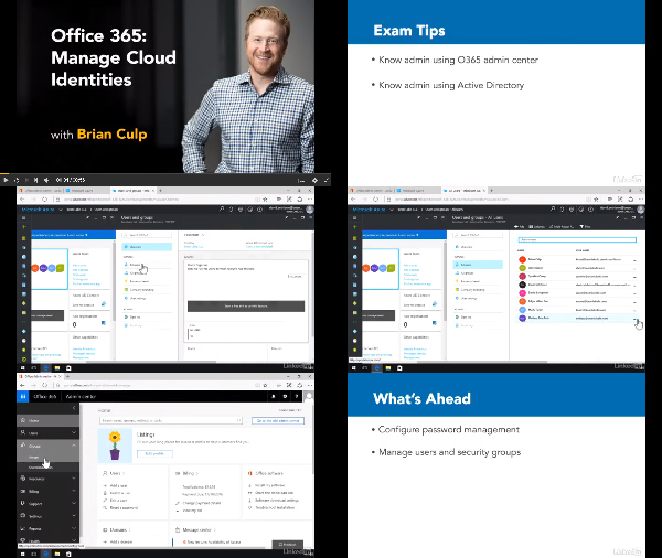 Office 365: Manage Cloud Identities center