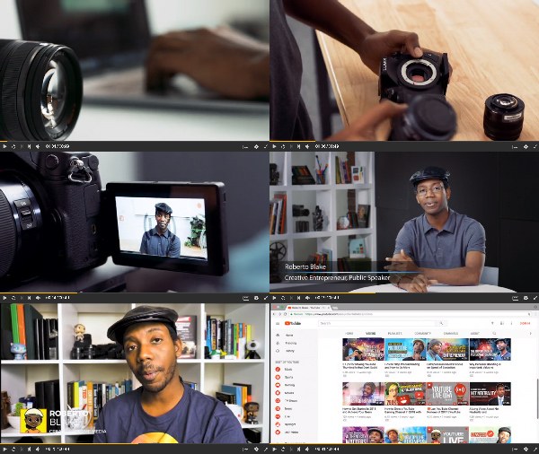 Online Video Content Strategy center