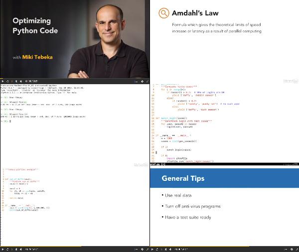 Optimizing Python Code center