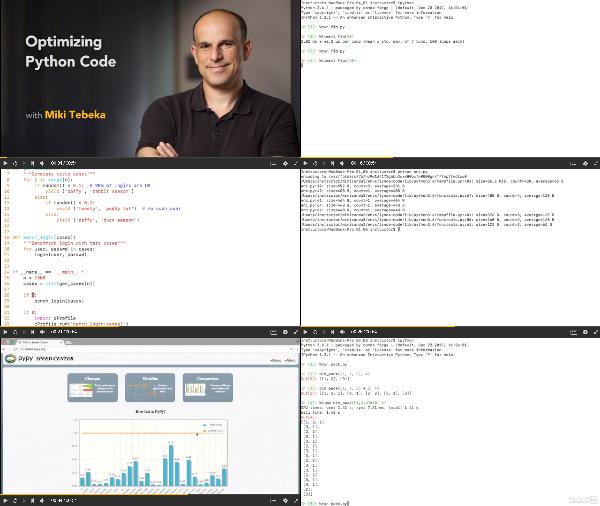 Optimizing Python Services center