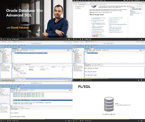 Oracle Database 12c: Advanced SQL center