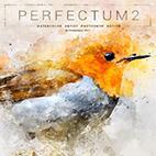 Perfectum 2 - Watercolor Artist Photoshop Action logo
