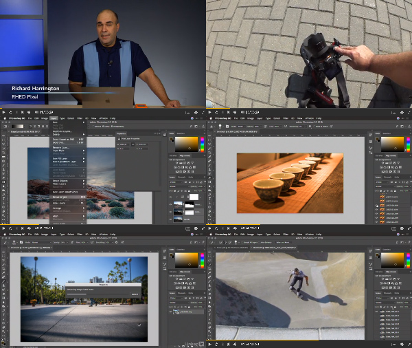 Photoshop Layers: Working with Multiple Photos center