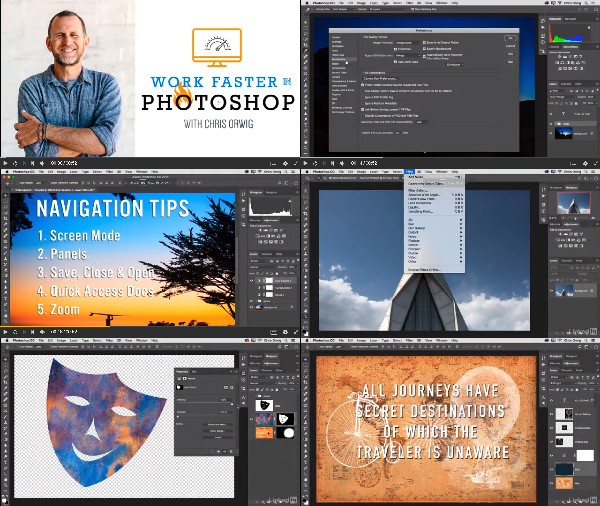Photoshop: Working Faster center