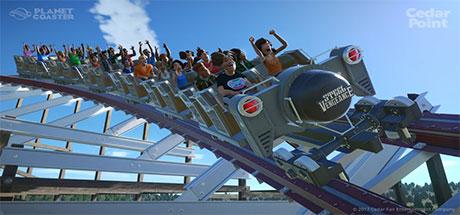 Planet Coaster Cedar Point Steel Vengeance center