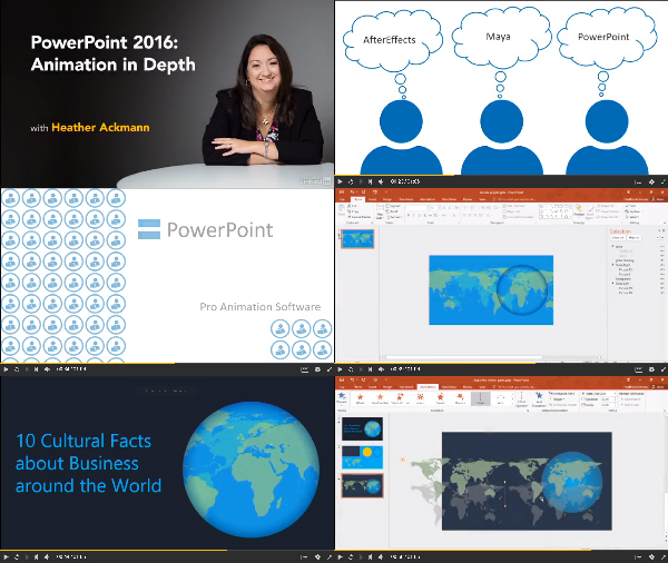 PowerPoint 2016: Animation in Depth center
