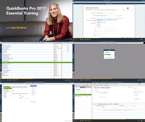 QuickBooks Pro 2017 Essential Training center