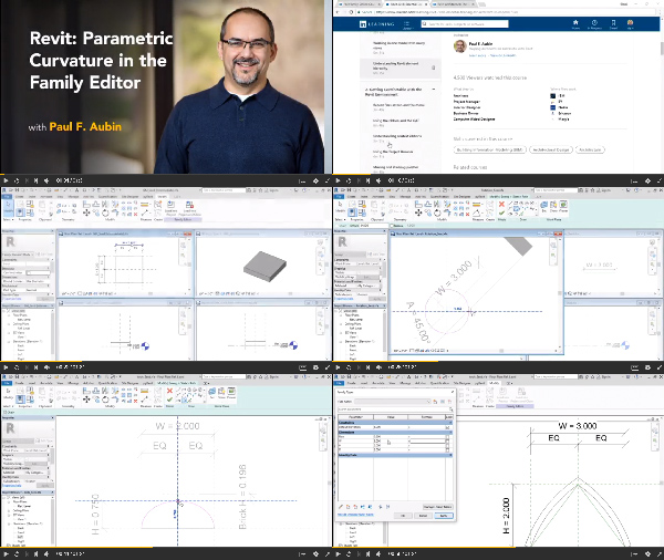Revit: Parametric Curvature in the Family Editor center