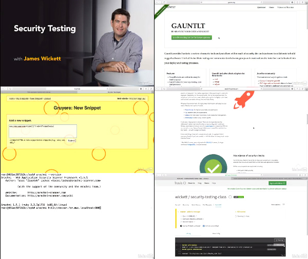 Security Testing center
