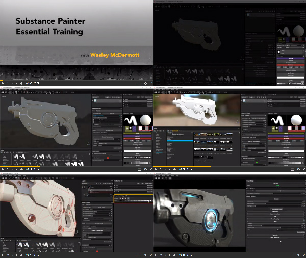 Substance Painter Essential Training center