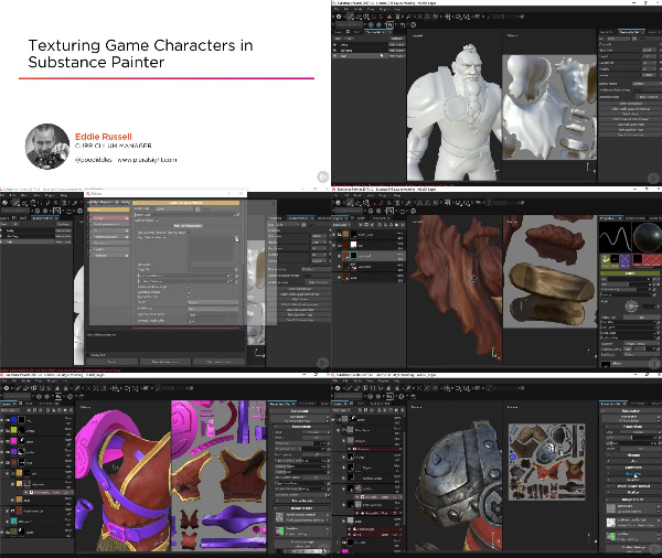 Texturing Game Characters in Substance Painter center