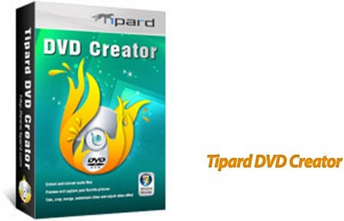 Tipard DVD Creator center