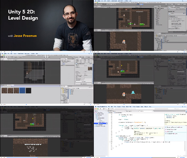 Unity 5 2D: Level Design center