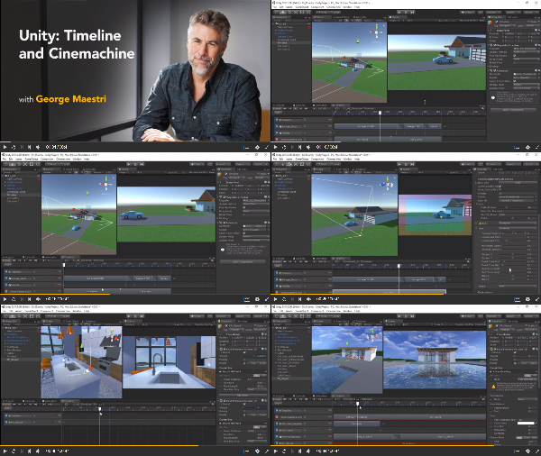 Unity: Timeline and Cinemachine center
