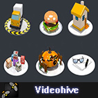 Videohive Animated Icons Professional Pack logo