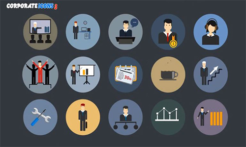 Videohive Animated Icons Professional Pack center