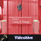 Videohive Broadcast Coming Up Next Package logo