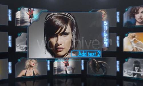 Videohive Circle Screens center