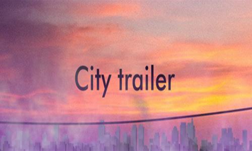 Videohive City Trailer center