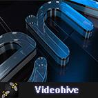 Videohive Cool Glass Logo logo