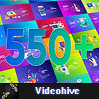 Videohive Flat Design Concepts Package logo