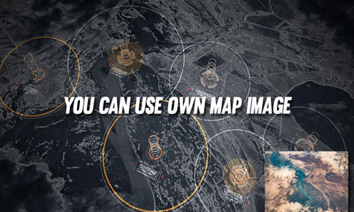 Videohive HUD Map Pack center