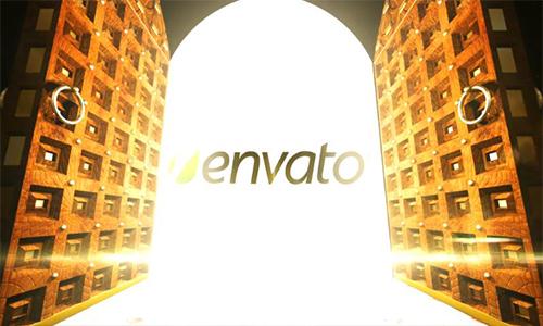 Videohive Logo Doorway center
