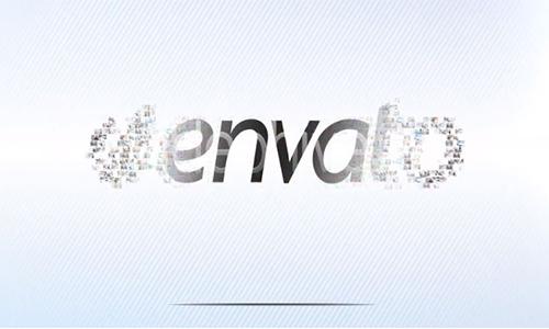 Videohive Mosaic Logo Presentation center