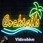 Videohive Neon Light logo