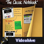 Videohive The Classic Notebook logo