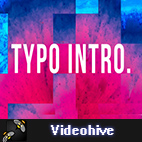 Videohive Typo Intro logo