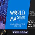 Videohive World Map Creator logo